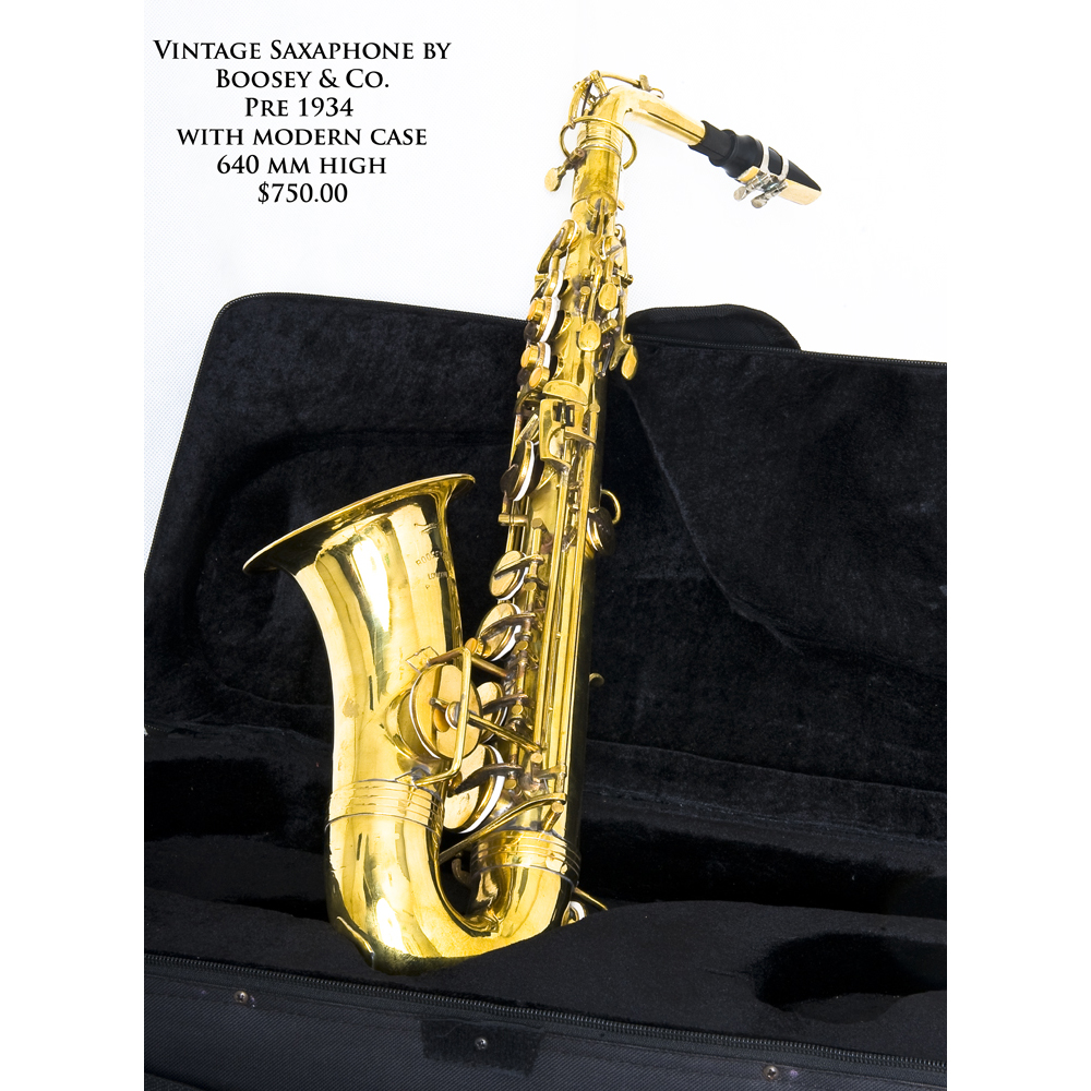Boosey and Co Sax